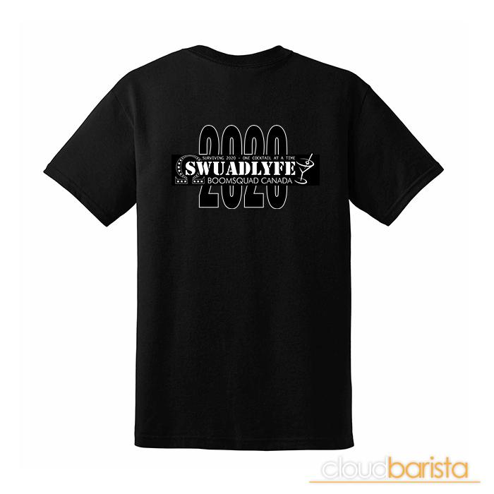 Swuadlyfe 2020 Edition T-Shirt Squad Shop BoomSquad