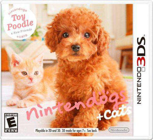 Nintendogs + Cats: Toy Poodle and New Friends - Nintendo 3DS
