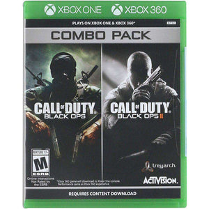 Activision Call of Duty: Black Ops 1 & 2 Combo Pack - Xbox 360