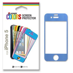 iCover New OEM Black Front Screen Protector for iPhone 5