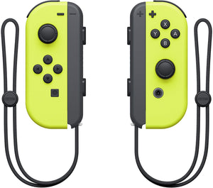 Nintendo Joy-Con (L/R) - Neon Yellow Bundle Controllers