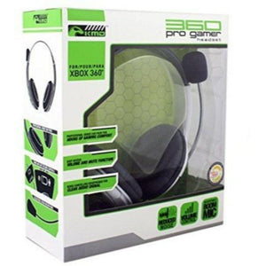 KMD Xbox 360 Wired Pro Gamer Headset White