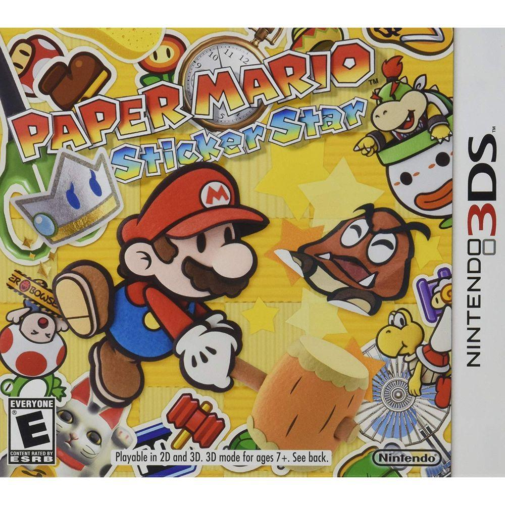 Paper Mario: Sticker Star - Nintendo 3DS