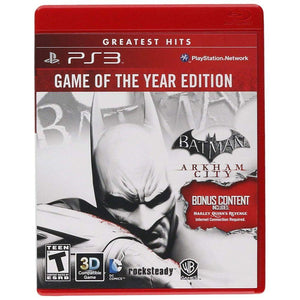 Batman: Arkham City - Game of The Year Edition (Restricted Distribution) - Playstation 3