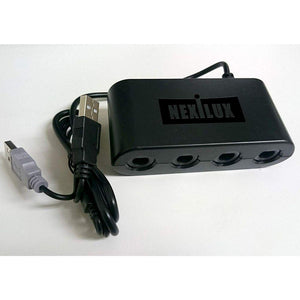 GameCube Controller Adapter for Wii U,  PC USB & Switch - NEXiLUX