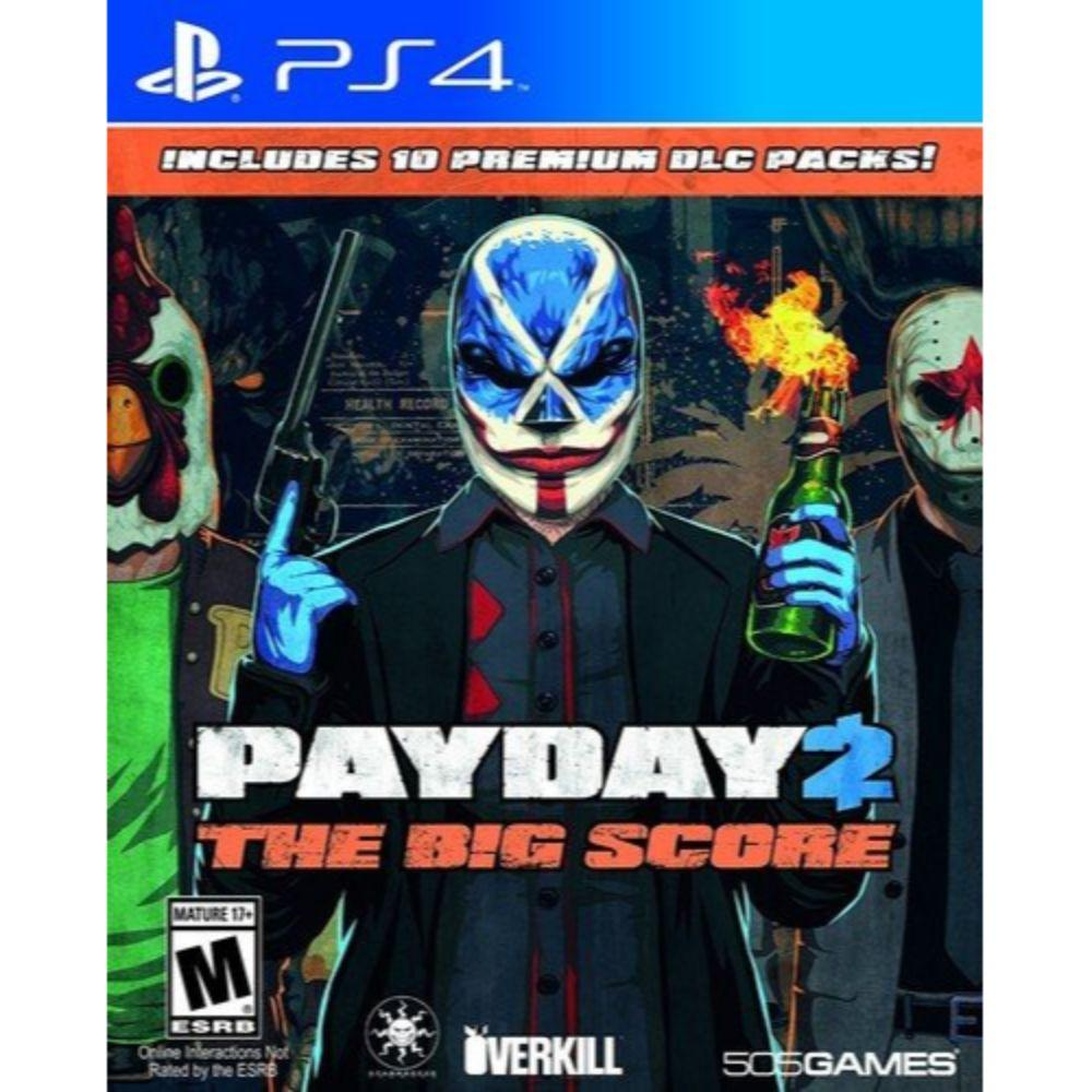 Payday 2: The Big Score - Playstation 4