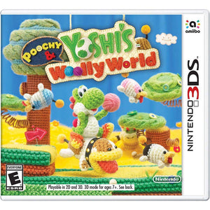 Poochy & Yoshi's Woolly World - Nintendo 3Ds Standard Edition