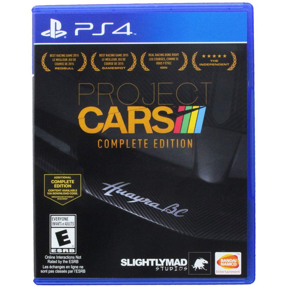 Project Cars: Complete Edition - PlayStation 4