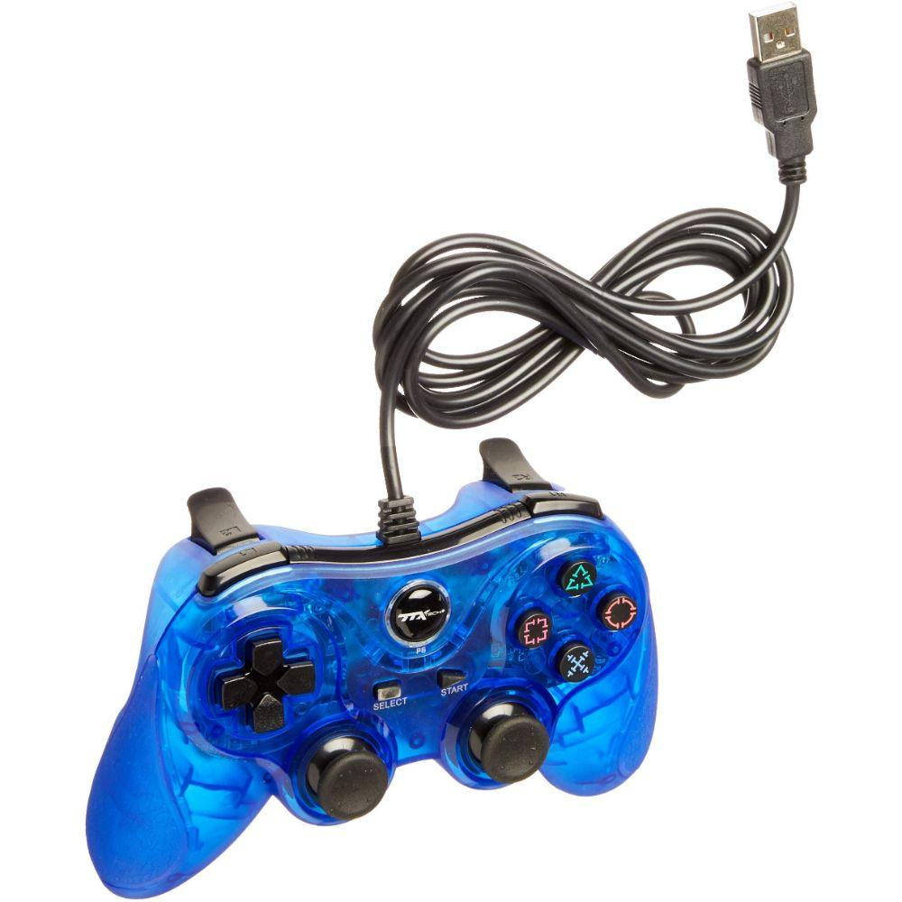 TTX Wired USB Controller - Blue - PlayStation 3