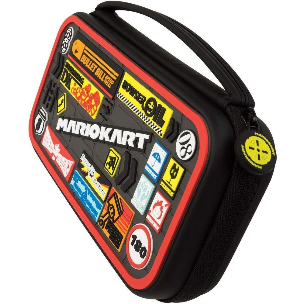 Nintendo Switch Mario Kart Deluxe Travel Case for Console and Games by PDP