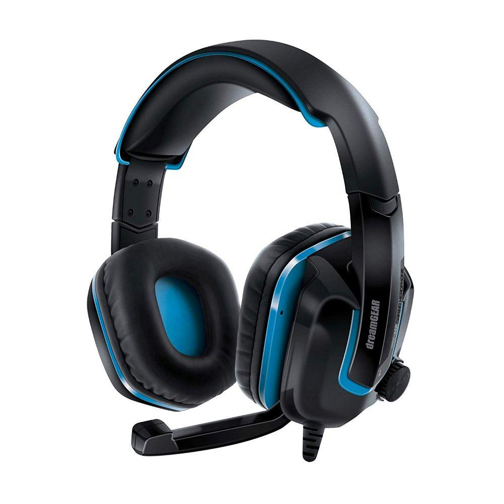 DreamGEAR GRX-440 Wired Headset - Black/Blue