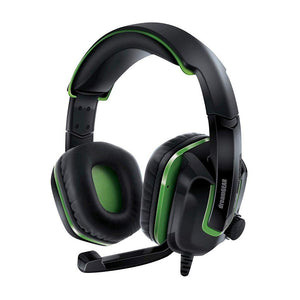 DreamGEAR Wired Headset for Xbox One - Black/Green