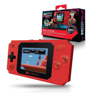 My Arcade Pixel Player Handheld Game Console: 300 Retro Style Games Plus 8 Data East Hits