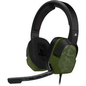 PDP PS4 LVL 3 Stereo Gaming Headset Green Camo