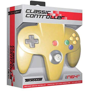 TeknoGame N6 Wired Controller Yellow