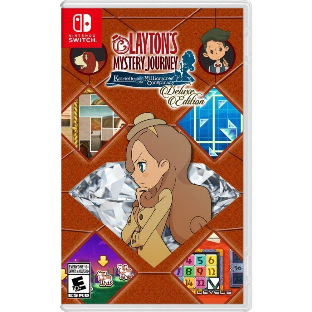 Layton's MYSTERY JOURNEY: Katrielle and the Millionaires' Conspiracy - Nintendo Switch