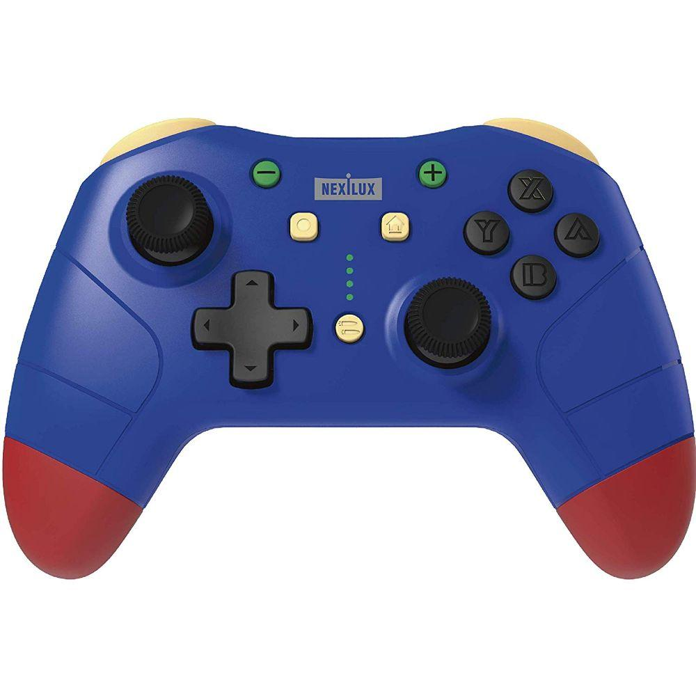 Wireless Pro Controller for Nintendo Switch & Switch Lite (Motion Sensor, NFC & Turbo Enhanced), PC, Android Phone and Android TV - Blue