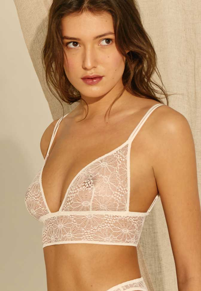 Triangle Bustier Virgin Garden