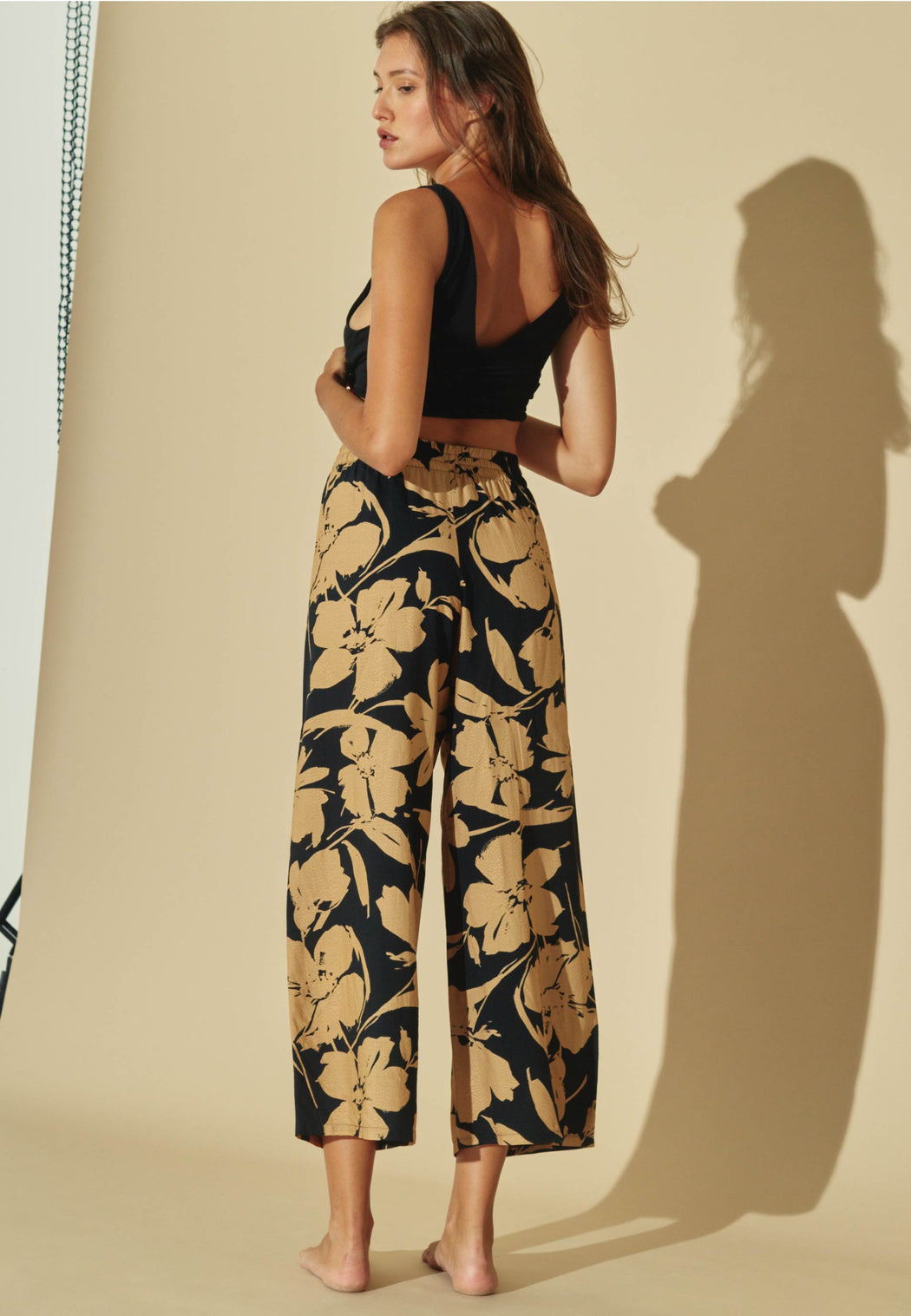 Pantalon Golden Flowers