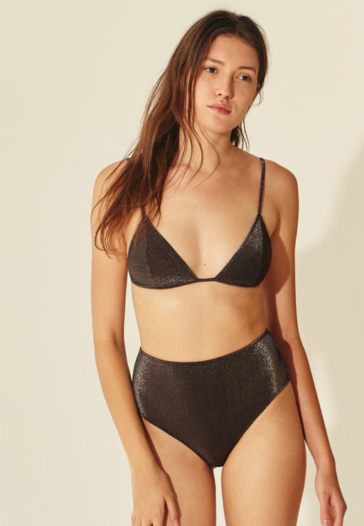 TRIANGLE NOUÉ SWIM GOLDIE