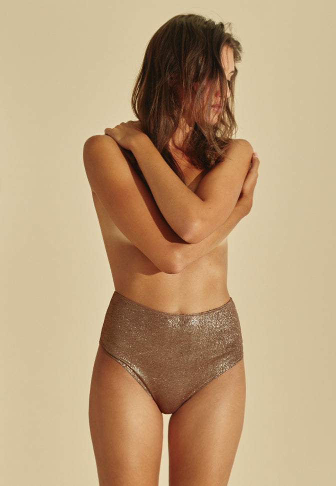 Culotte Haute Light Gold