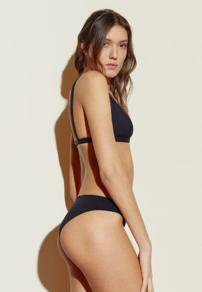 CULOTTE BASSE MAILLOT BLACK STRIPES