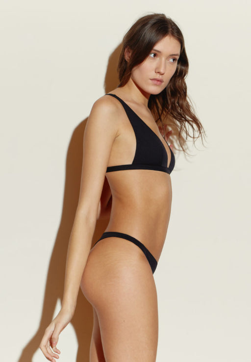TANGA MAILLOT BLACK STRIPES