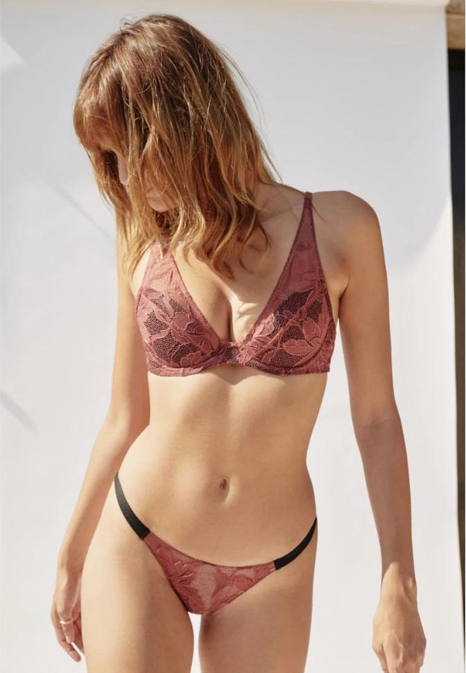 LUNE  BLUSH LACE