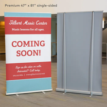 Load image into Gallery viewer, Custom Retractable Banners