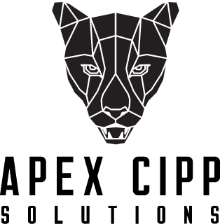 APEX CIPP Solutions Logo Black Florida Panther with Company Name