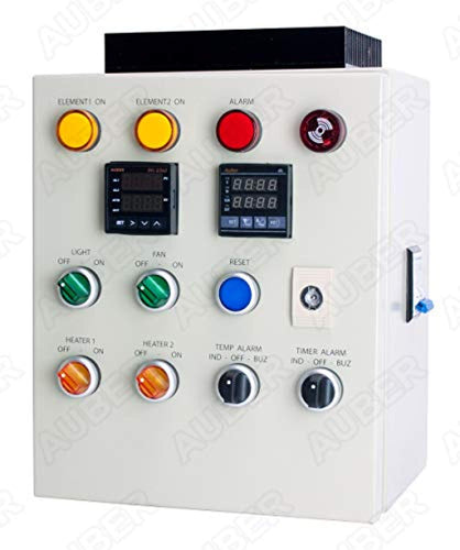 PCO400 Control Panel For Powder Coating Oven, w/Light and Fan Control (240V 50A 12000W)