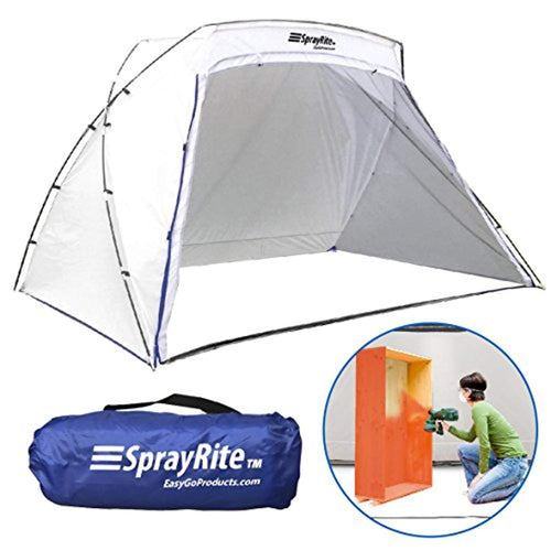 SPRAYRITE – Paint Spray Shelter - Spray Booth Painting Tent - Small Furniture Paint Stain Shelter - Portable for Home Use and Stores Easily - Great for Woodworking