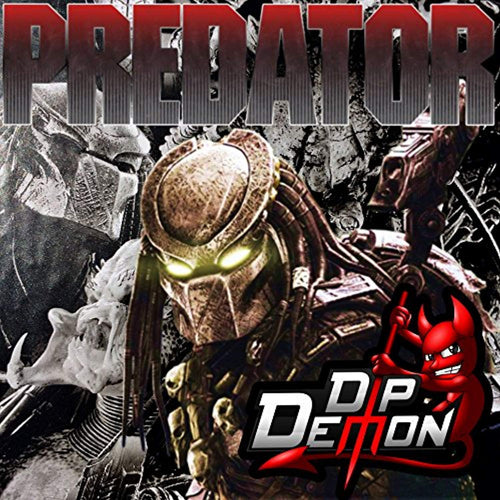 Predator Hydrographic Water Transfer Film Hydro Dipping Dip Demon