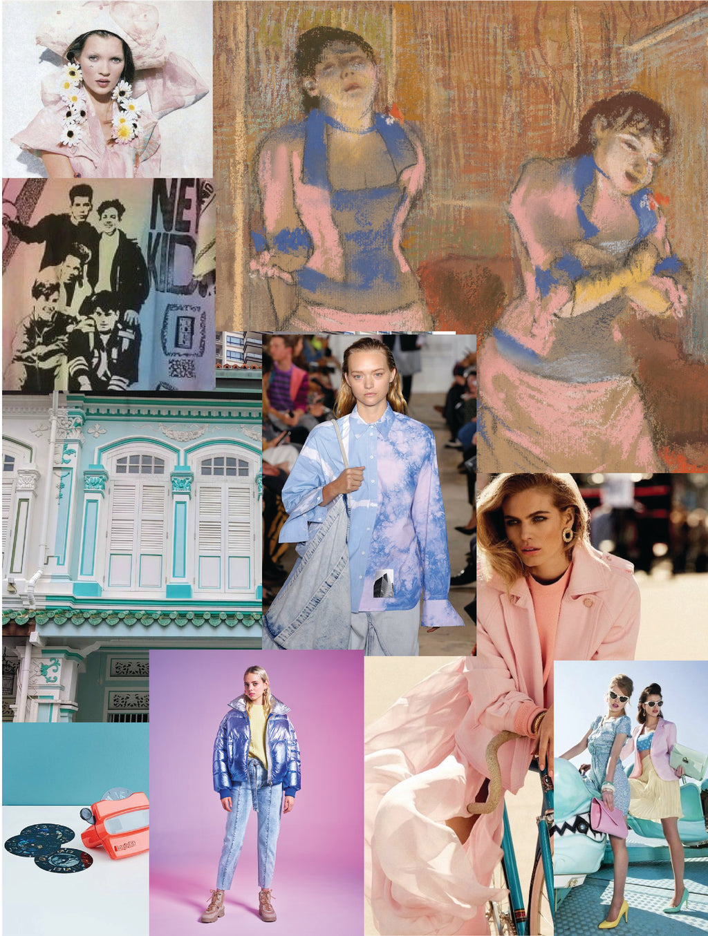 90's Pastel Fever: An Exploration of Nostalgia