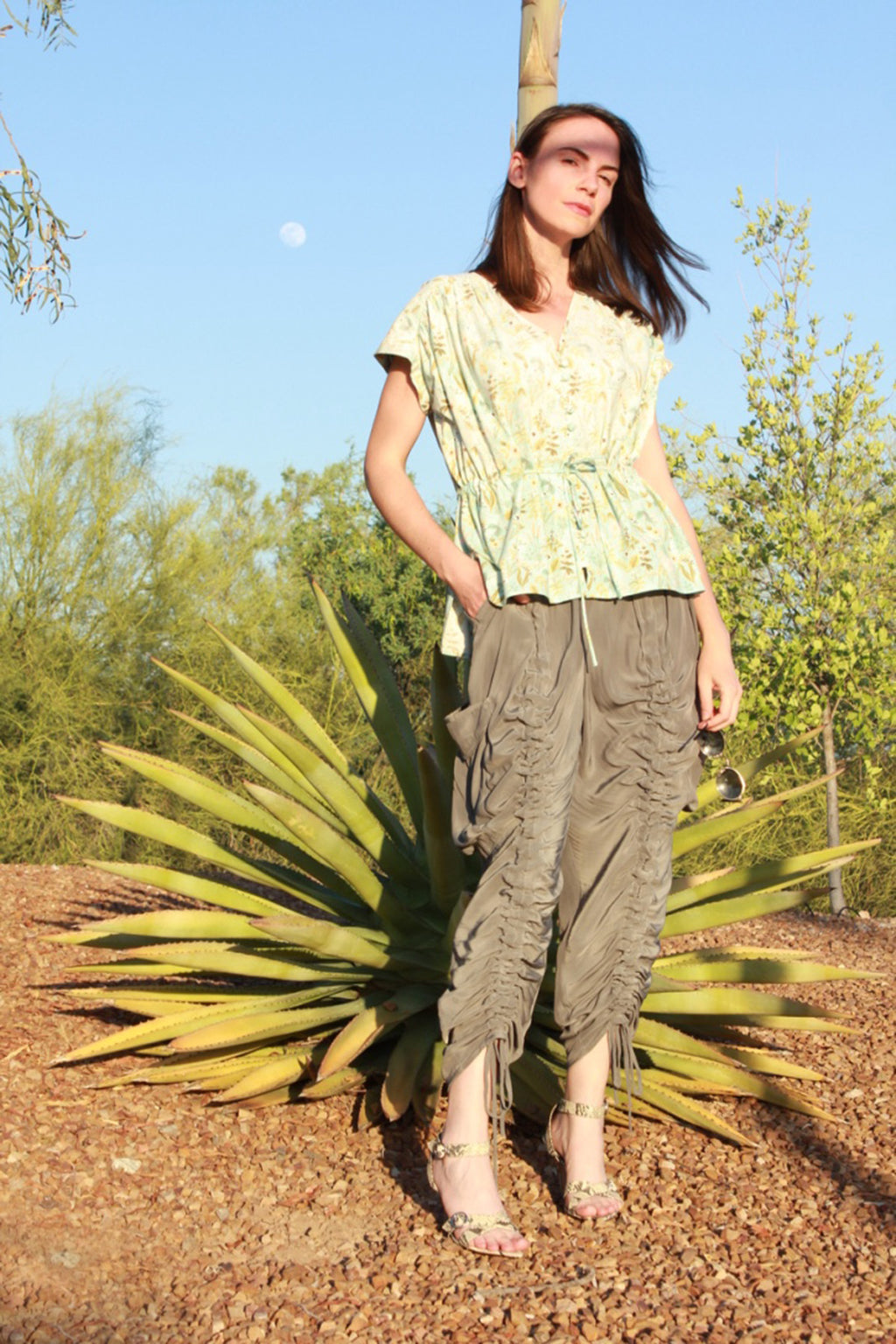 Portia Ruched Pant