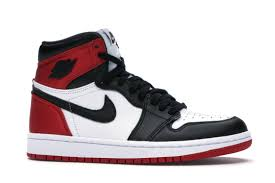 JORDAN 1 SATIN BLACK TOE (W)