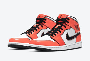 Jordan 1 Mid SE Turf Orange
