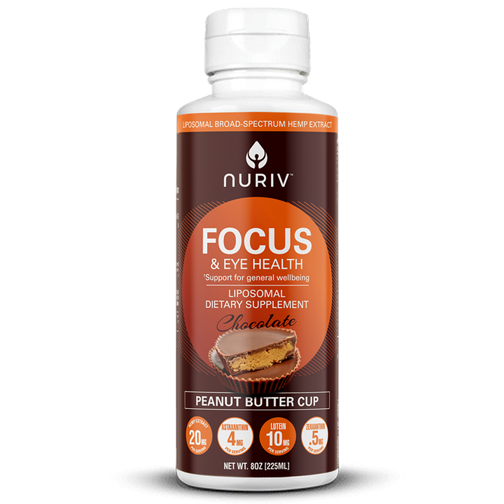 Focus & Eye Health Broad-Spectrum Hemp Extract