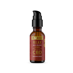 Relax Quick Release Micelle CBD Tincture