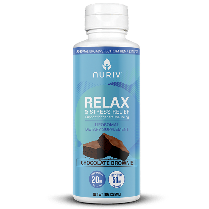 Relax & Stress Relief Broad-Spectrum Hemp Extract