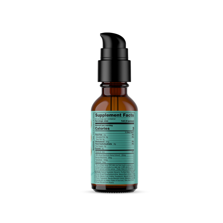 Liposomal SLEEP (Sustained Release) CBD Hemp Extract Tincture