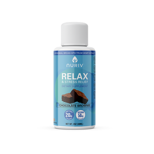 Relax & Stress Relief Broad-Spectrum Hemp Extract (2oz)