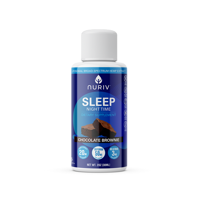 Sleep/Night Time Broad-Spectrum Hemp Extract (2oz)