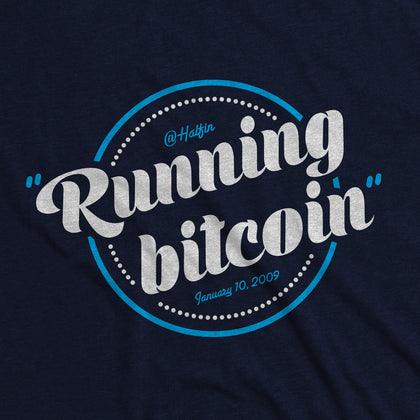 Running Bitcoin - Bitcoin Apparel