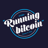 Running Bitcoin - Long Sleeve T-Shirt