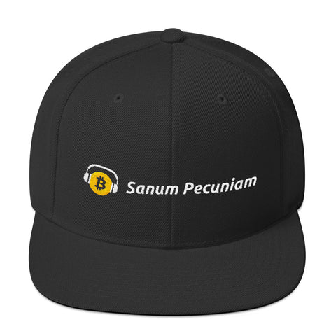 Sanum Pecuniam (Sound Money) - Snapback Hat