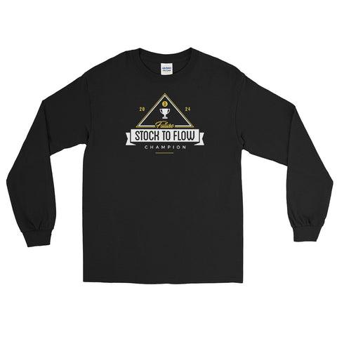 Stock To Flow Champ - Long Sleeve T-Shirt