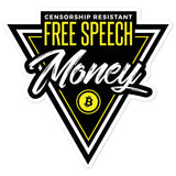 Free Speech Money -Stickers