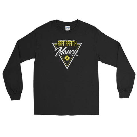 Free Speech Money - Long Sleeve T-Shirt
