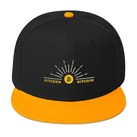 Citizen Bitcoin - Snapback Hat